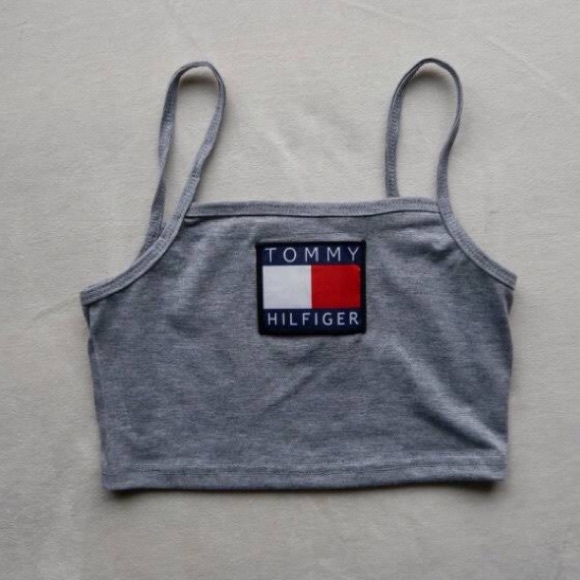 76 Off Tommy Hilfiger Tops Tommy Hilfiger Crop Top From
