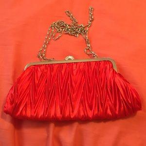 Handbags - Red clutch purse