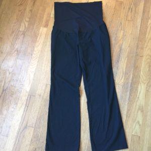 Liz Lange for Target Pants - LIZ LANGE Maternity Black Full Panel Trousers