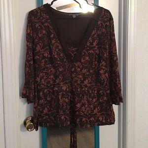 Apt. 9 Tops - Long sleeve blouse
