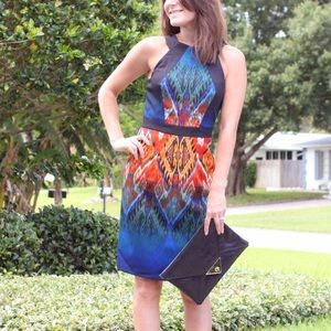 Muse Dresses - Seriously stunning patterned dress!
