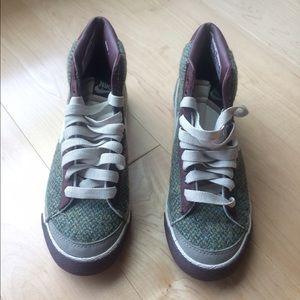 77b876406ad7 Nike Shoes - Harris Tweed Nike Hi Tops
