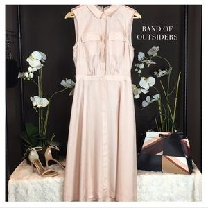 Band Of Outsiders Dresses & Skirts - BAND OF OUTSIDERS SILK BLUSH DRESS