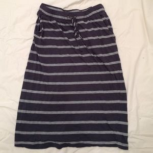 Allen Allen Dresses & Skirts - Pretty striped skirt with pockets