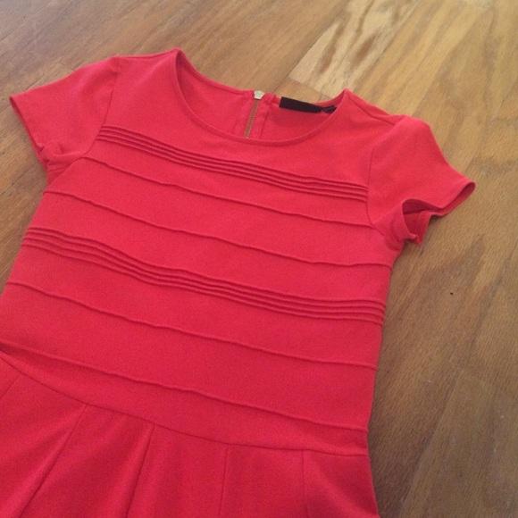 Cynthia Rowley Dresses - Coral skater dress