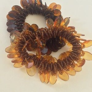 Jewelry - Amber colored bracelets