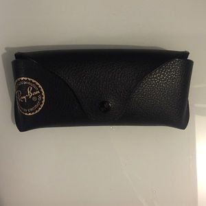 Authentic Ray-Ban sunglasses case.