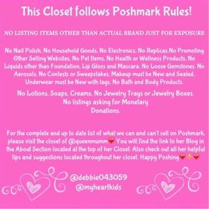 Miss Me Other - POSHMARK RULES