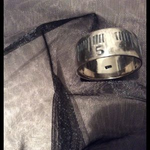 "Other - UNIQUE Statement Ring ""Ruler"" Ring ~Silver 925~"