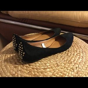 Mossimo Supply Co Shoes - Mossimo gold studded flats