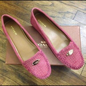 Coach Shoes - 🎁❤💕Brand new Coach Honest Suede loafers💕❤