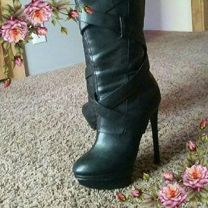 Colin Stuart Shoes - Victoria's Secret Colin Stuart High Heel Boots.