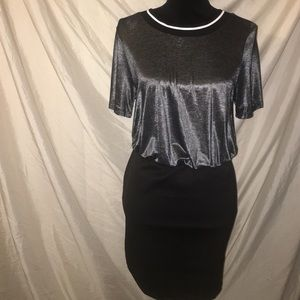 Mystic Dresses & Skirts - Mystic Metallic jersey Party Evening Dress NWT