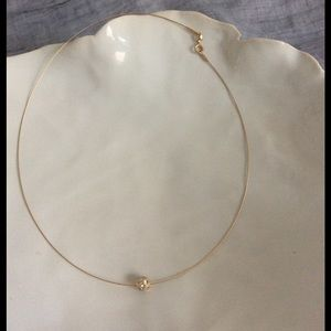 Jewelry - SALE🔥🔥🔥Gold Necklace w/Disco Ball ⚱