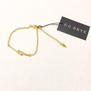 CC Skye Jewelry - REDUCED! New CC Skye Love Bolt Bracelet!