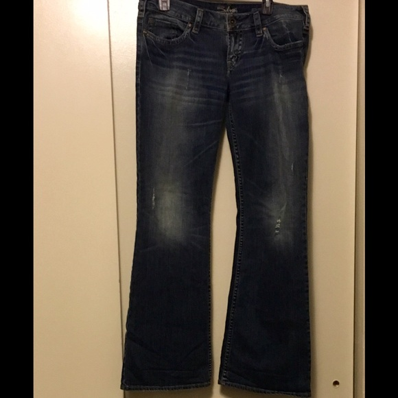 72% off Silver Jeans Denim - Size 32 Silver jeans low rise from