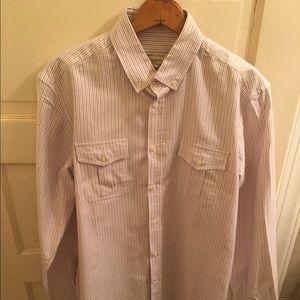 MAISON KITSUNE Other - New** Maison Kitsune RWB Dobby Shirt