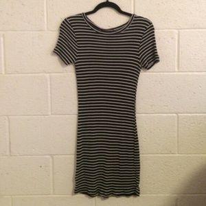 Brandy Melville Striped Jenelle Bodycon Dress