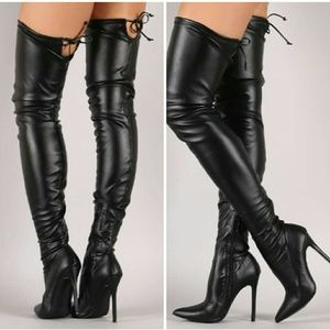 🏆RESTOCKED!🖤Extremely Strechy Over the Knee Boot