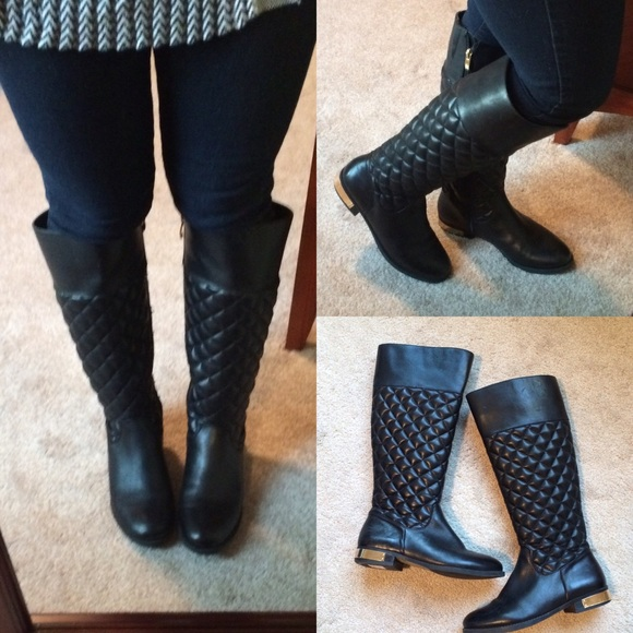 b riding i bootsbooties m quilted size booties sesto black boots quilt regular meucci us