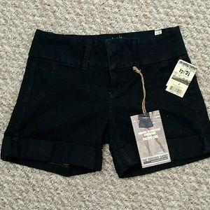 17/21 exclusive denim Pants - Dark denim trouser short NWT