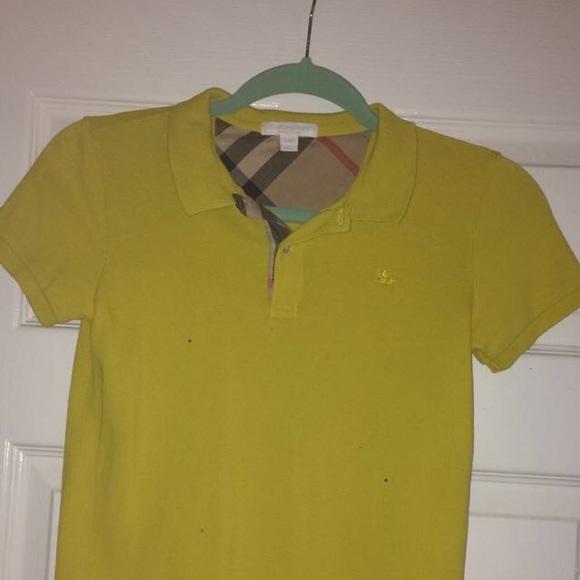Burberry Shirts   Tops   Check Placket Polo Shirt For Big Boy   Poshmark d3b1cf24e886