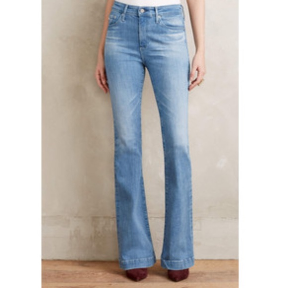 70% off AG Adriano Goldschmied Denim - AG Janis High-Rise Flare ...