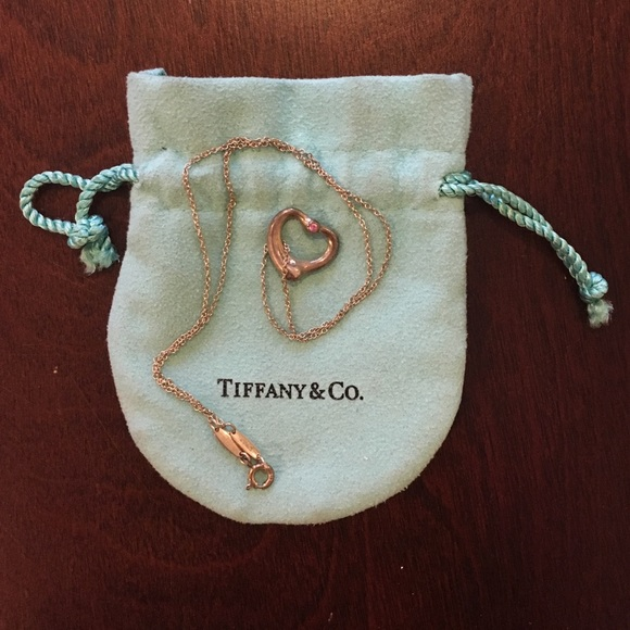 75 off tiffany amp co jewelry tiffany amp co open heart