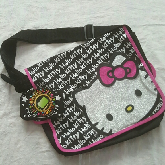 3593f9fd4 Accessories | Kids Hello Kitty Messenger Bag Wwristlet | Poshmark