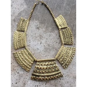 Cultiverre Jewelry - ✂️ S A L E > the goddess brass collar necklace