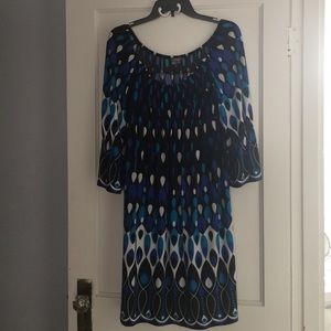 Muse patterned dress