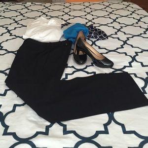Dress Barn Pants - Black Dress Pants