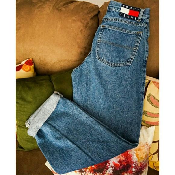 efc6b5789b Tommy Hilfiger Jeans | Tommy Vintage High Waist Boyfriend | Poshmark