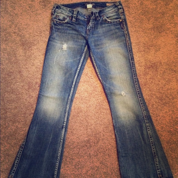 91% off Silver Jeans Denim - Silver Jeans, Frances Flare from ...