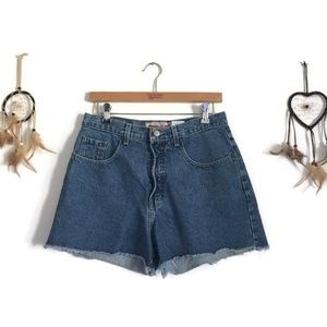 90s High Waisted Cut Off Shorts