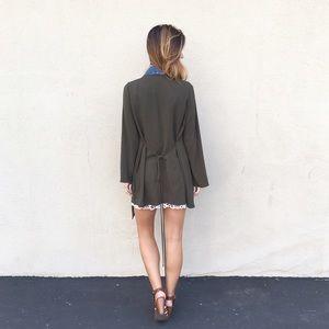 LAST ITEM olive green jacket