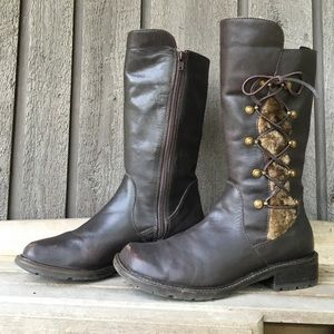 Brown Matisse Leather Boots