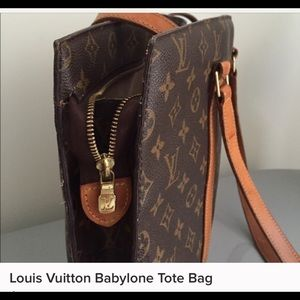 Authentic Louis Vuitton babylone tote.
