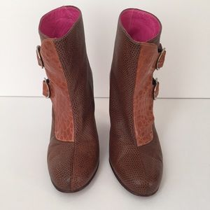 Mishka Buenos Aires Soft Leather Booties
