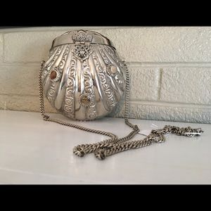 Handbags - Vintage Sterling Silver Hand Bag