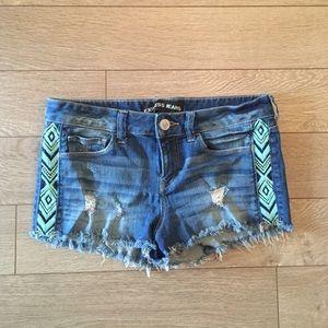 MOVING SALE: Express Jean Mini Shorts