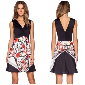 Clover Canyon Dresses & Skirts - Clover Canyon Floral Neoprene Dress