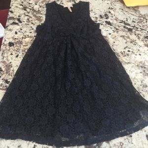 American Rag Dresses & Skirts - Black baby doll dress with gorgeous detail