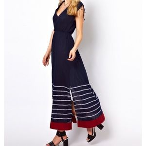 """French connection """"sun stripe maxi dress"""""""