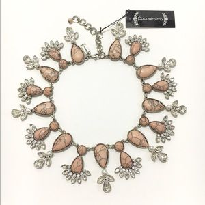 Cocoa jewelry Jewelry - Cocoa Jewelry | Blush Pink Marble Stone Necklace