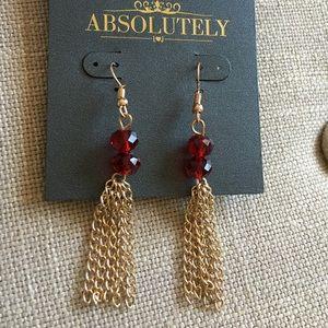 Absolutely Jewelry - SUMMER SALE! ☀️ Absolutely Crystal Tassel Earrings