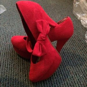 ANDREA FENZI Shoes - 2 Way Strap Bow Tie Heels