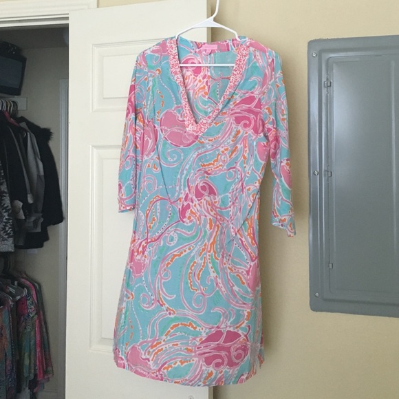 e0a0549e7c27aa Lilly Pulitzer Dresses & Skirts - Lilly Pulitzer jellies be jammin tunic  dress