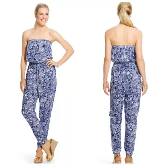 1245d89c49f New Lilly Pulitzer Target Upstream Jumpsuit