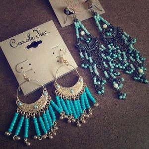 Rachel Jewelry - BOHO EARRINGS 2 Pairs